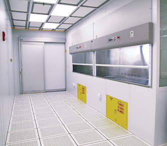 wide cleanroom doors